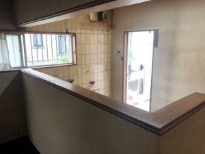 1:対面キッチンカウンター・垂れ壁を撤去