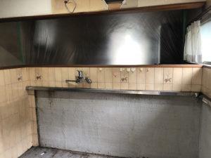 2:キッチンもすべて撤去