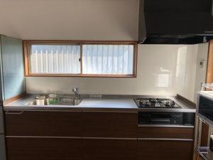 7:壁付キッチンの完成